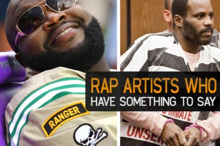 Rap artists who have something to say