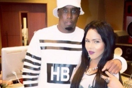 Crew Love: Lil Kim & Diddy Spotted in...