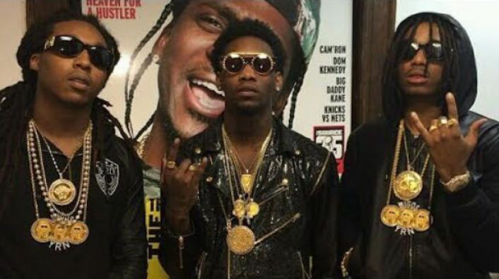 Migos member quavo reportedly beaten robbed for chain in for Migos t shirt mp3